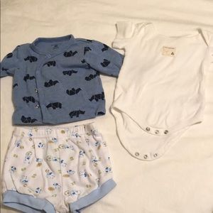 Assorted 3-6 mo items